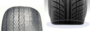 tire wear, Under_Inflation, Browns Alignment Brake Auto Repair raleigh, nc