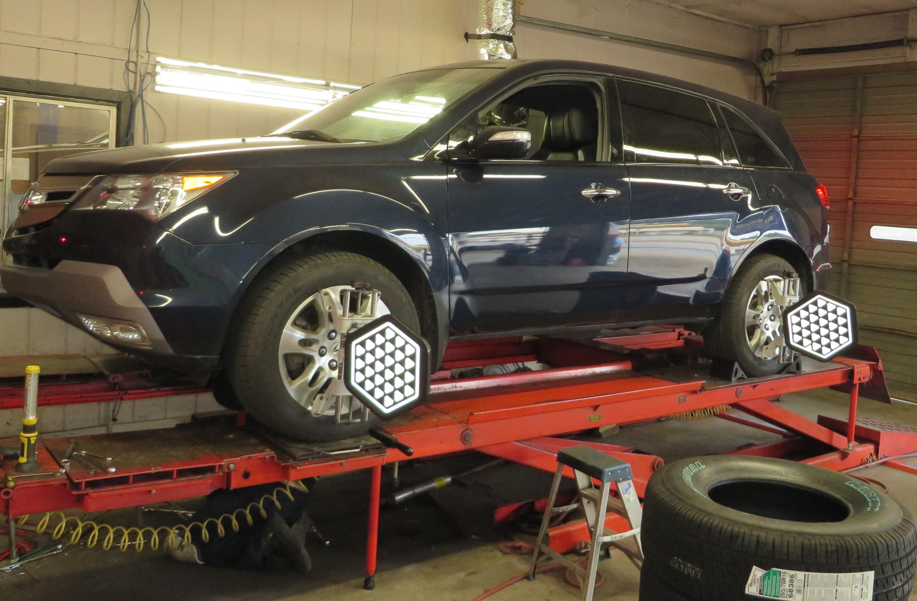 Auto Wheel Alignment